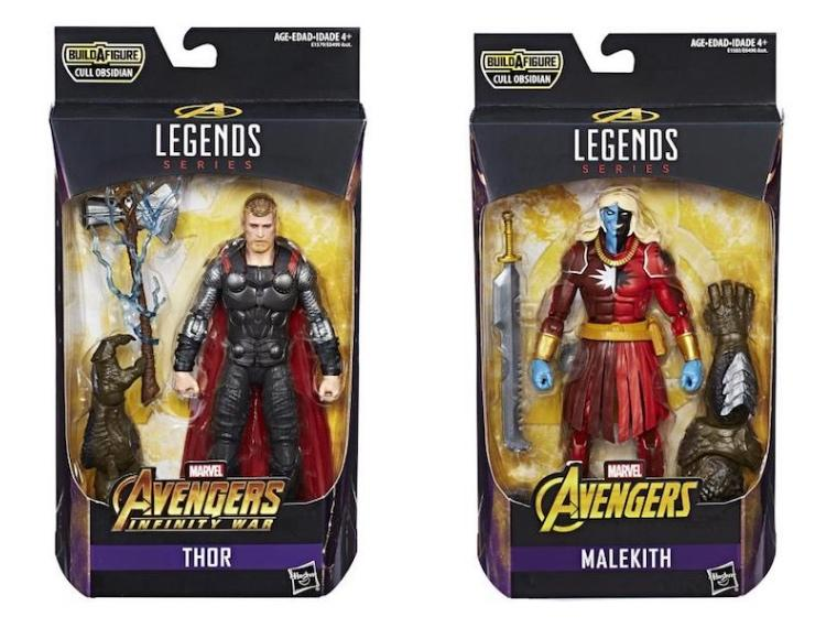 Avengers Marvel Legends Thor and Malekith 2 Pack by Hasbro