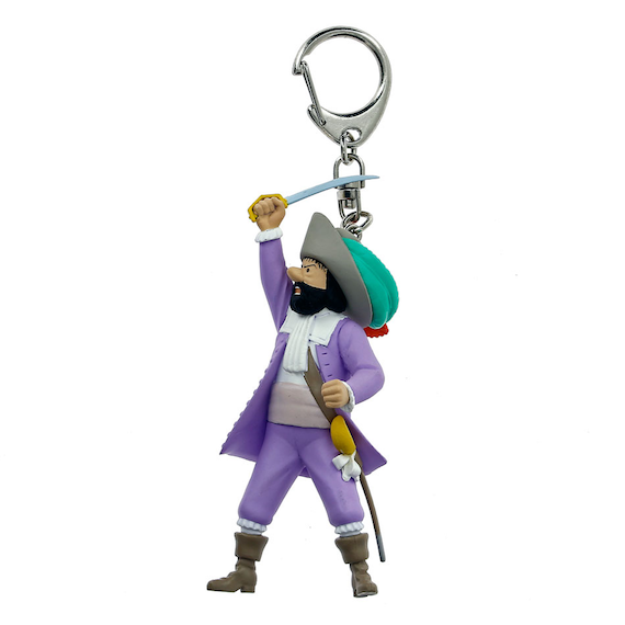 Adventures of Tintin - Sir Francis Haddock Keychain by Moulinsart