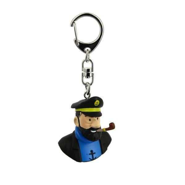 Captain Haddock PVC Key ring by Moulinsart