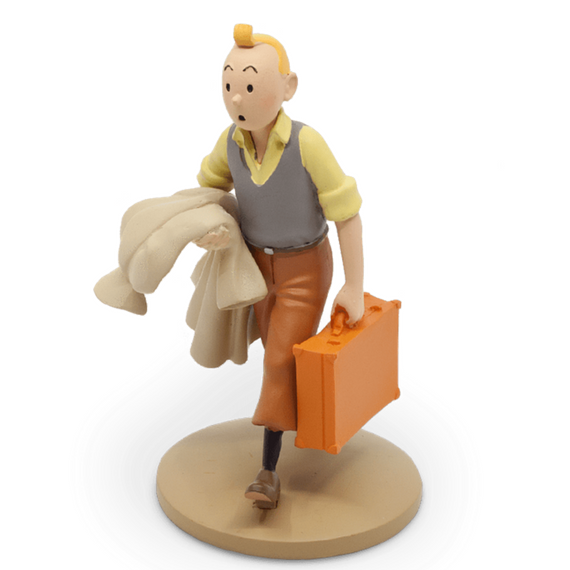 Tintin on Road Figure by Moulinsart