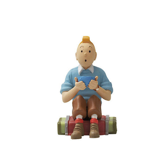Tintin Sitting Down Keychain by Moulinsart -Moulinsart - India - www.superherotoystore.com