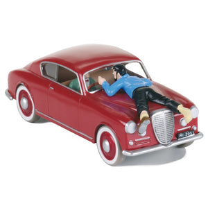 Adventures of Tintin - Lancia Aurelia Car Scene by Moulinsart