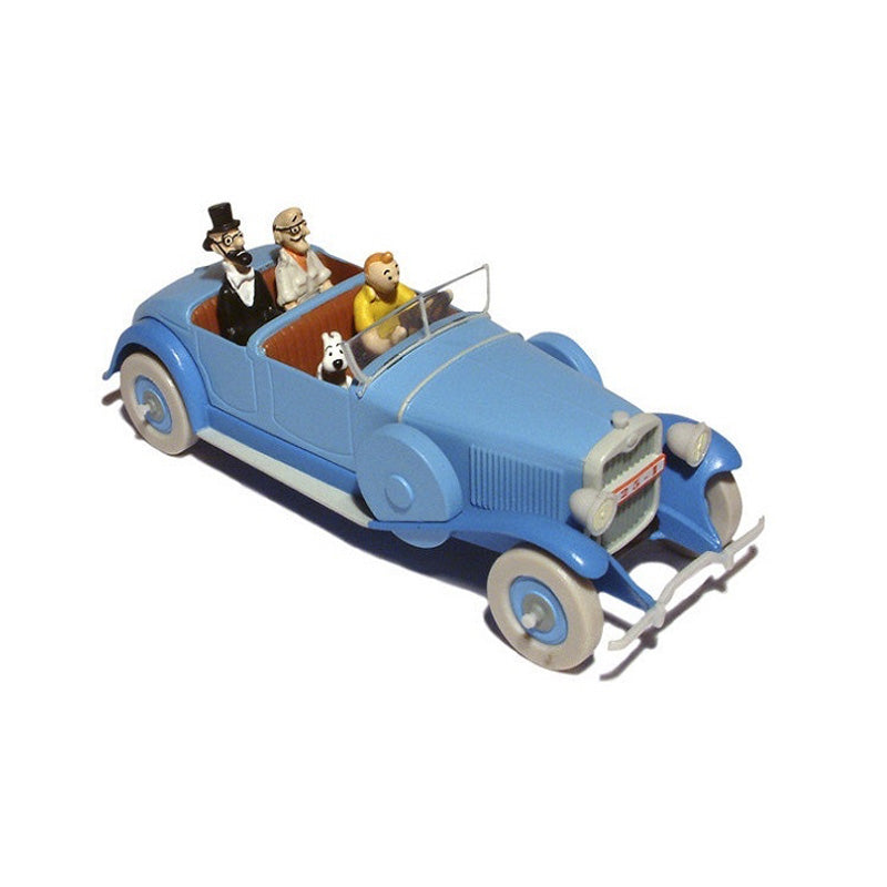 Adventures of Tintin - Blue Lincoln Torpedo Car by Moulinsart -Moulinsart - India - www.superherotoystore.com