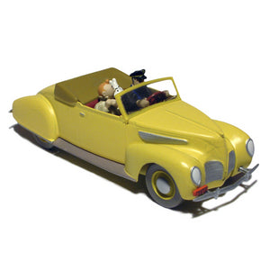 Adventures of Tintin - Captain Haddock Zephyr Convertible Car by Moulinsart