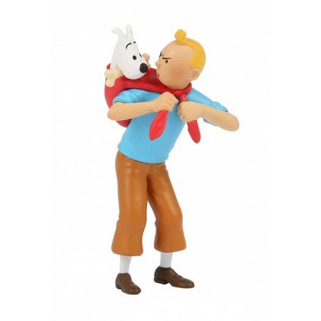 Adventures of Tintin - Tintin Carrying Snowy Mini Figure by Moulinsart -Moulinsart - India - www.superherotoystore.com