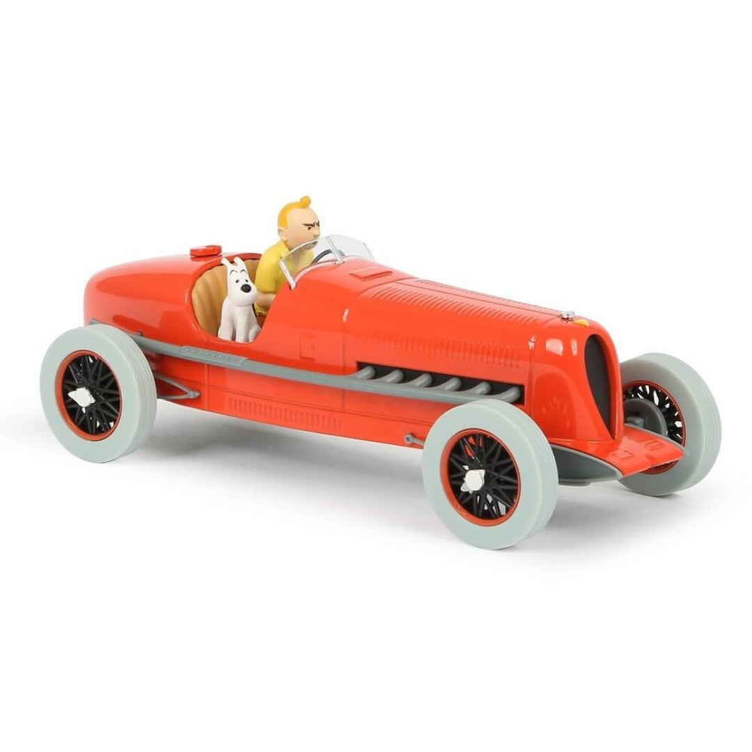 Adventures of Tintin - 1:24 Scale Red Racing Car by Moulinsart -Moulinsart - India - www.superherotoystore.com