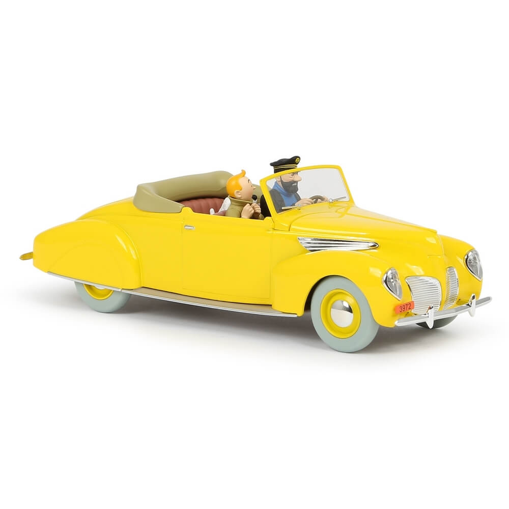 Adventures of Tintin - 1:24 Scale The Lincoln Zephyr Car by Moulinsart -Moulinsart - India - www.superherotoystore.com