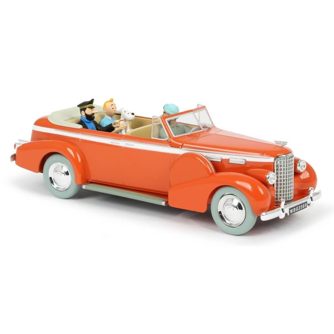 Adventures of Tintin - 1:24 Scale Taxi Cadillac V8 Car by Moulinsart -Moulinsart - India - www.superherotoystore.com