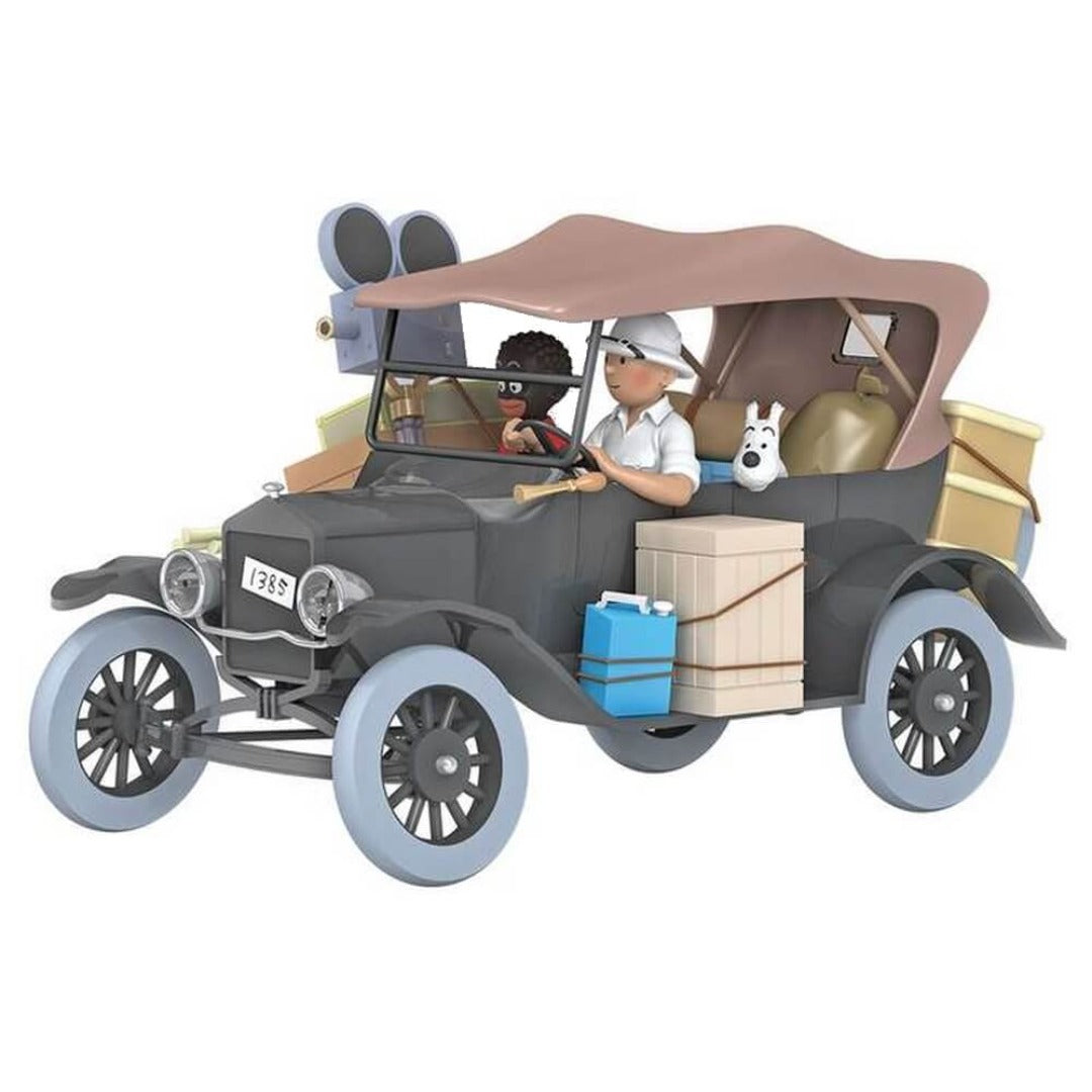 Adventures of Tintin - 1:24 Scale Black Ford T Car by Moulinsart -Moulinsart - India - www.superherotoystore.com