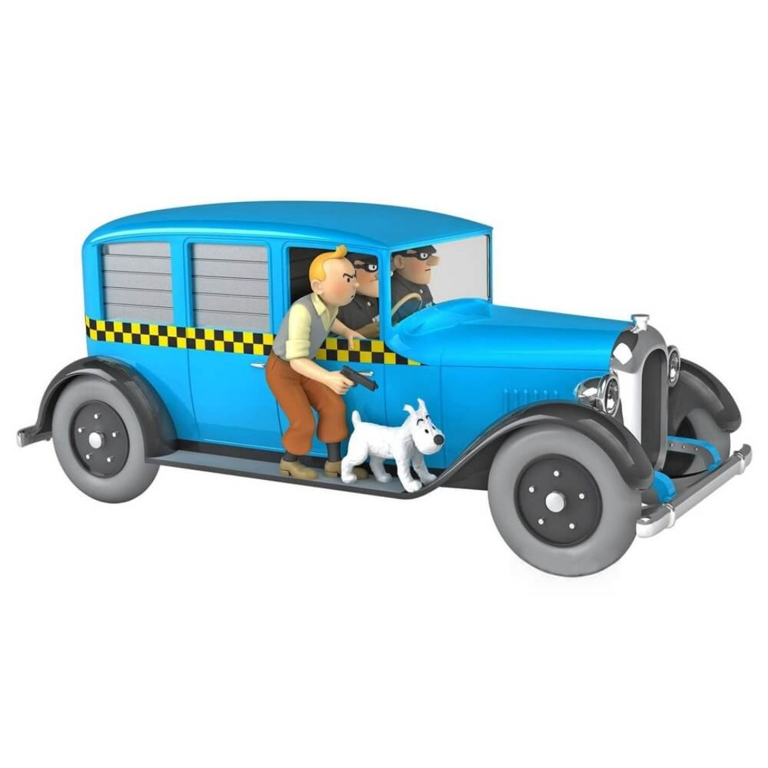 Adventures of Tintin - 1:24 Scale Chicago Taxi by Moulinsart -Moulinsart - India - www.superherotoystore.com