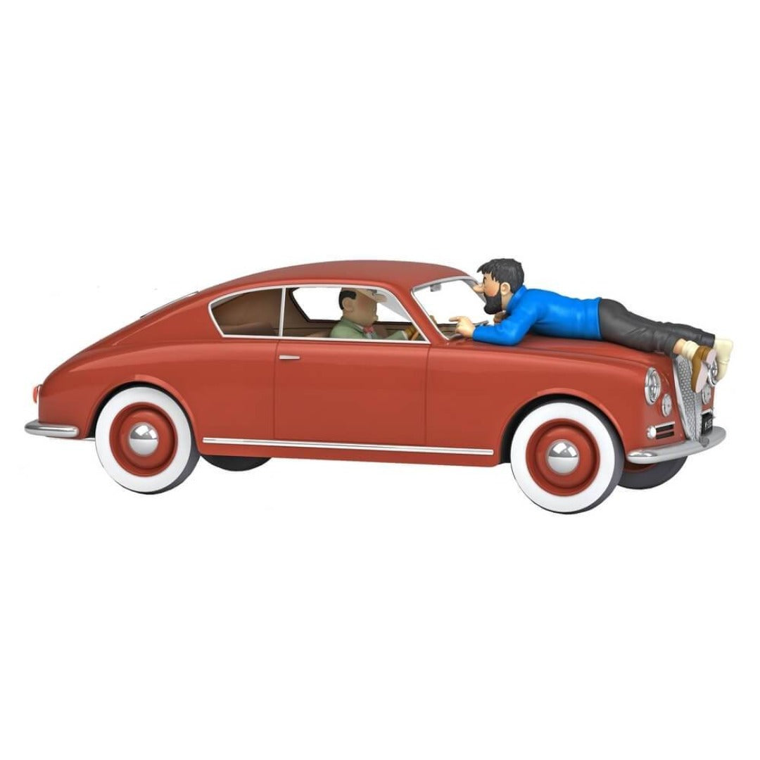 Adventures of Tintin - 1:24 Scale Lancia Aurelia Car by Moulinsart -Moulinsart - India - www.superherotoystore.com
