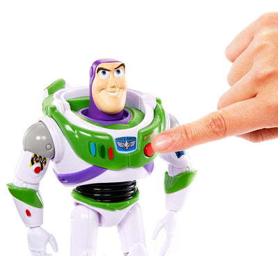 Toy Story True Talkers Buzz Lightyear Figure by Mattel -Mattel - India - www.superherotoystore.com