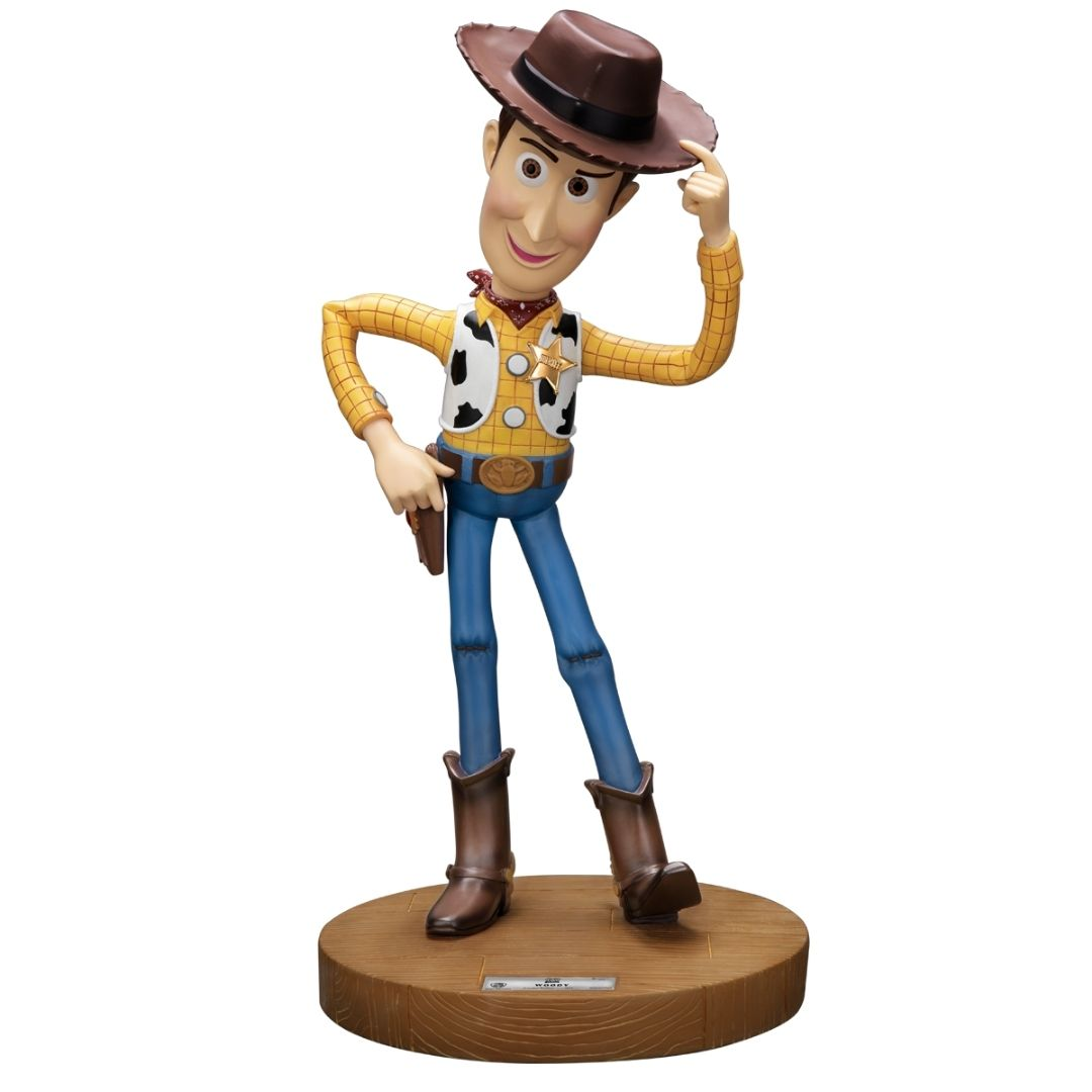 Disney Pixar Toy Story Woody Master Craft Figure by Beast Kingdom -Beast Kingdom - India - www.superherotoystore.com