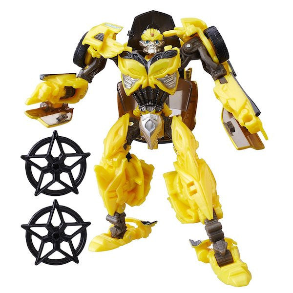 Transformers The Last Knight: Bumblebee Premier Edition Figure by Hasbro