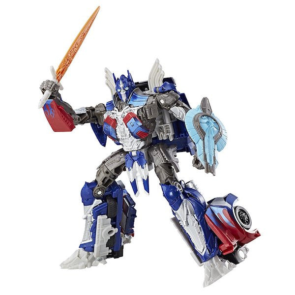 Transformers The Last Knight: Optimus Prime Premier Edition Figure by Hasbro