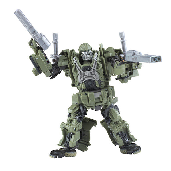 Transformers The Last Knight: Premier Edition Voyager Class Autobot Hound Figure by Hasbro