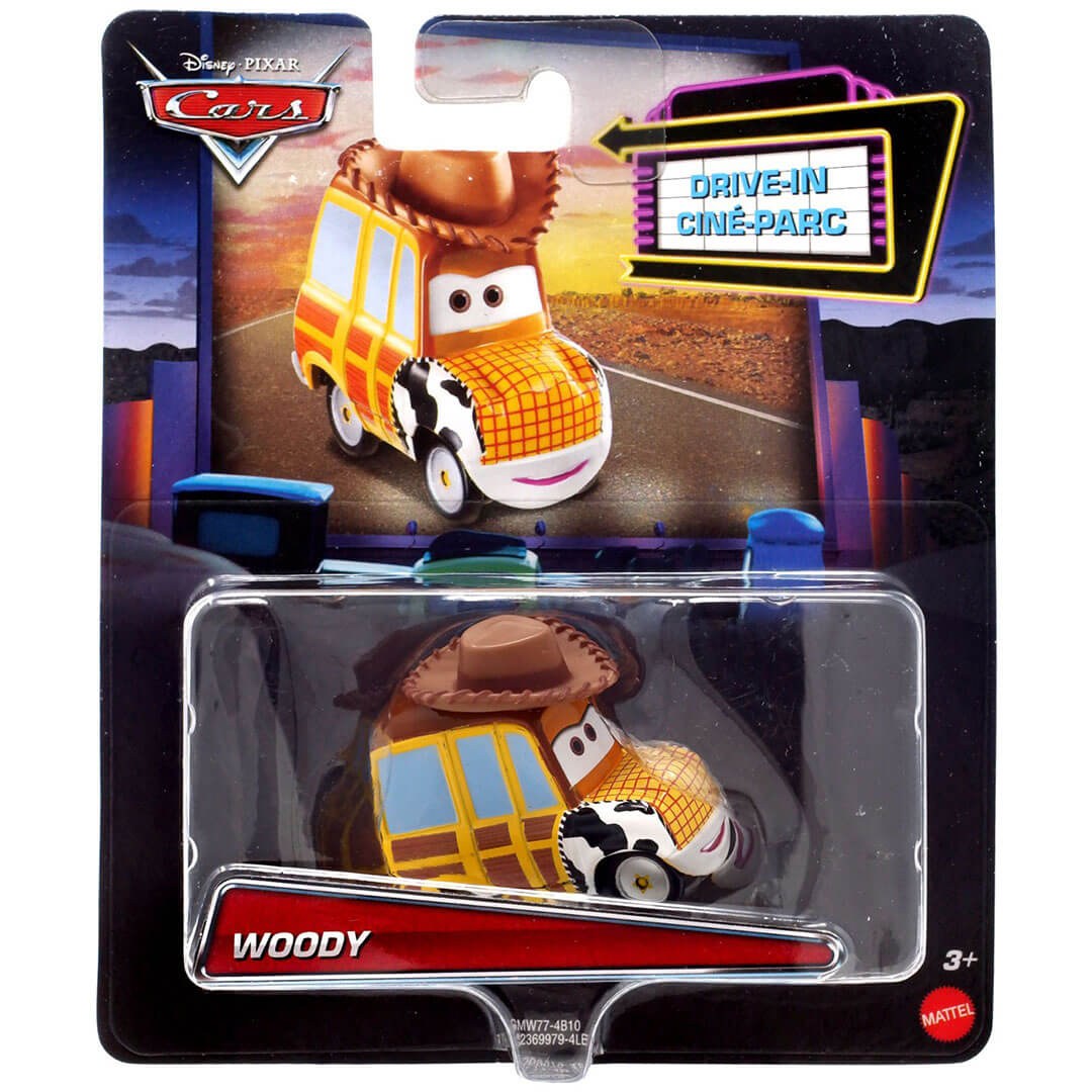 Disney Pixar Character Car - Toy Story - Woody Die-Cast Car by Mattel -Mattel - India - www.superherotoystore.com