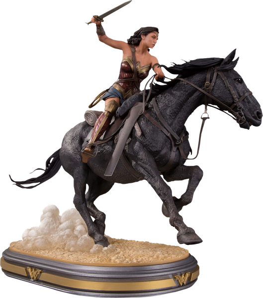 Wonder Woman Movie: Wonder Woman on Horseback Deluxe Statue by DC Collectibles