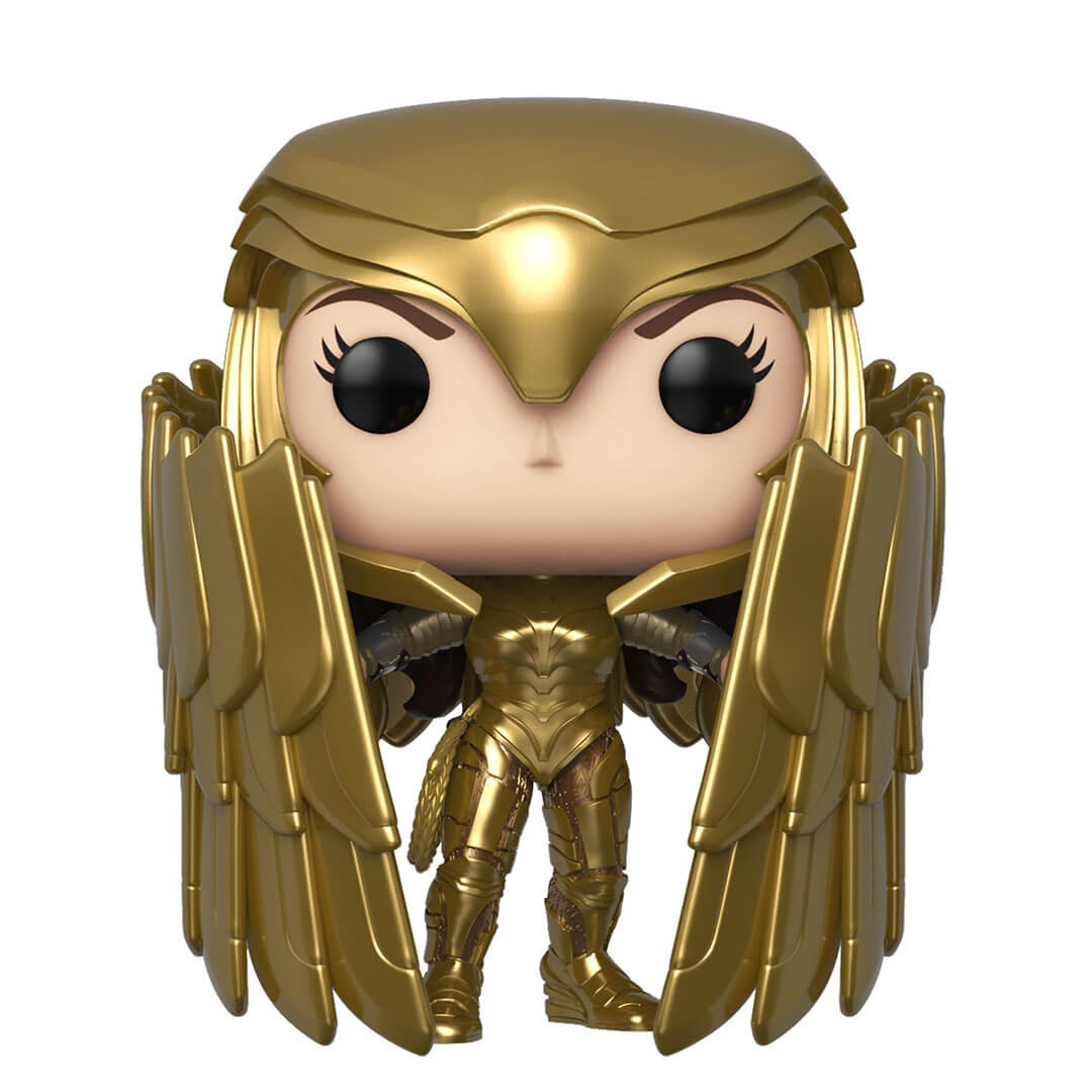 Wonder Woman 1984: Gold Shield Pose Wonder Woman Pop! Vinyl Figure by Funko -Funko - India - www.superherotoystore.com
