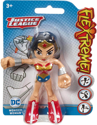 Justice League 4-inch Bendable Wonder Woman Figure by Mattel -Mattel - India - www.superherotoystore.com