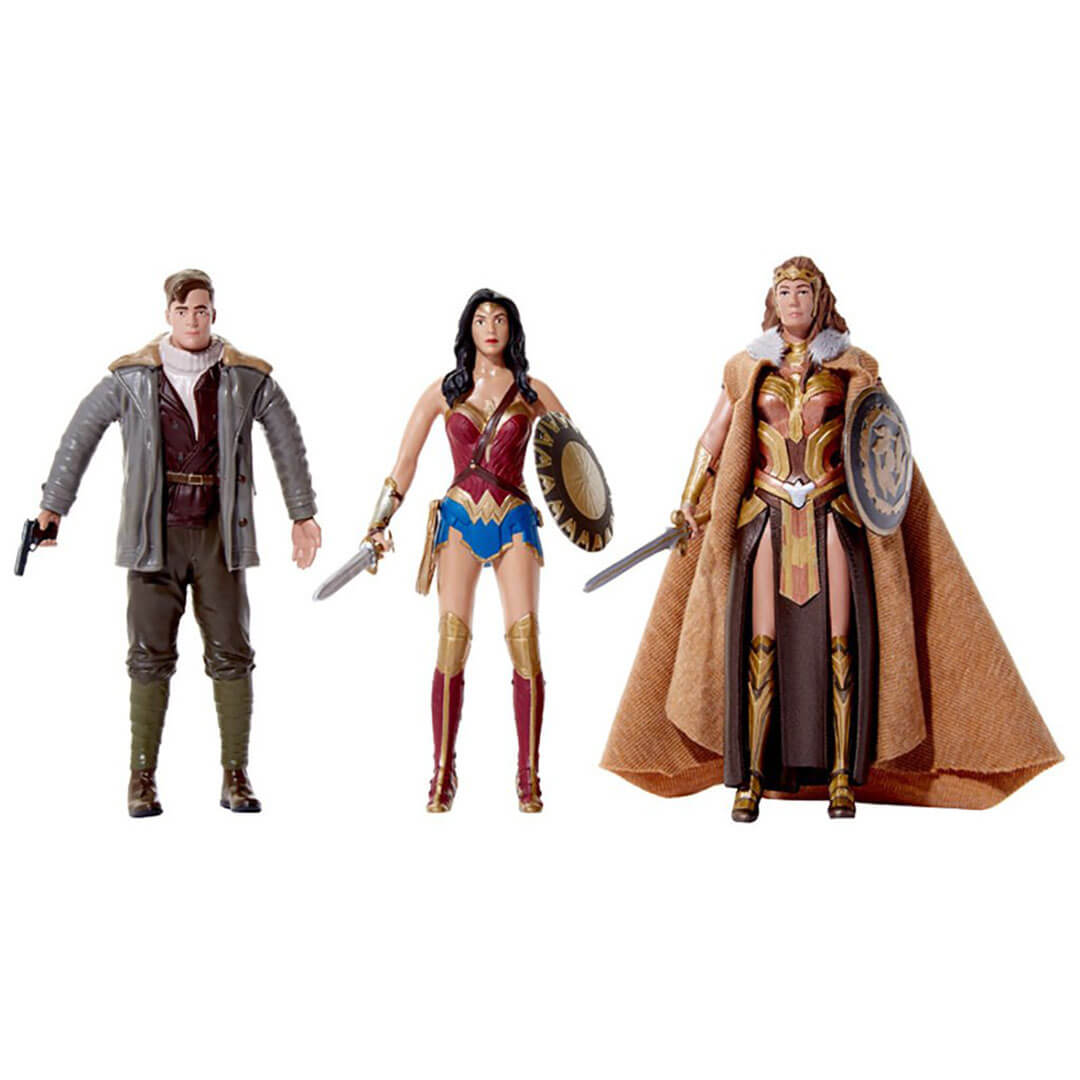 Wonder Woman Movie Bendable Action Figure Box Set by NJ Croce