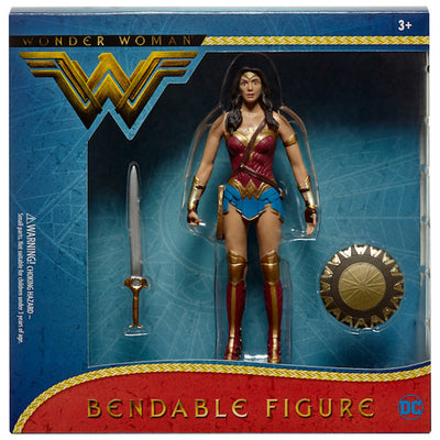 Wonder Woman Movie Wonder Woman Bendable Figure by NJ Croce -NJ Croce - India - www.superherotoystore.com