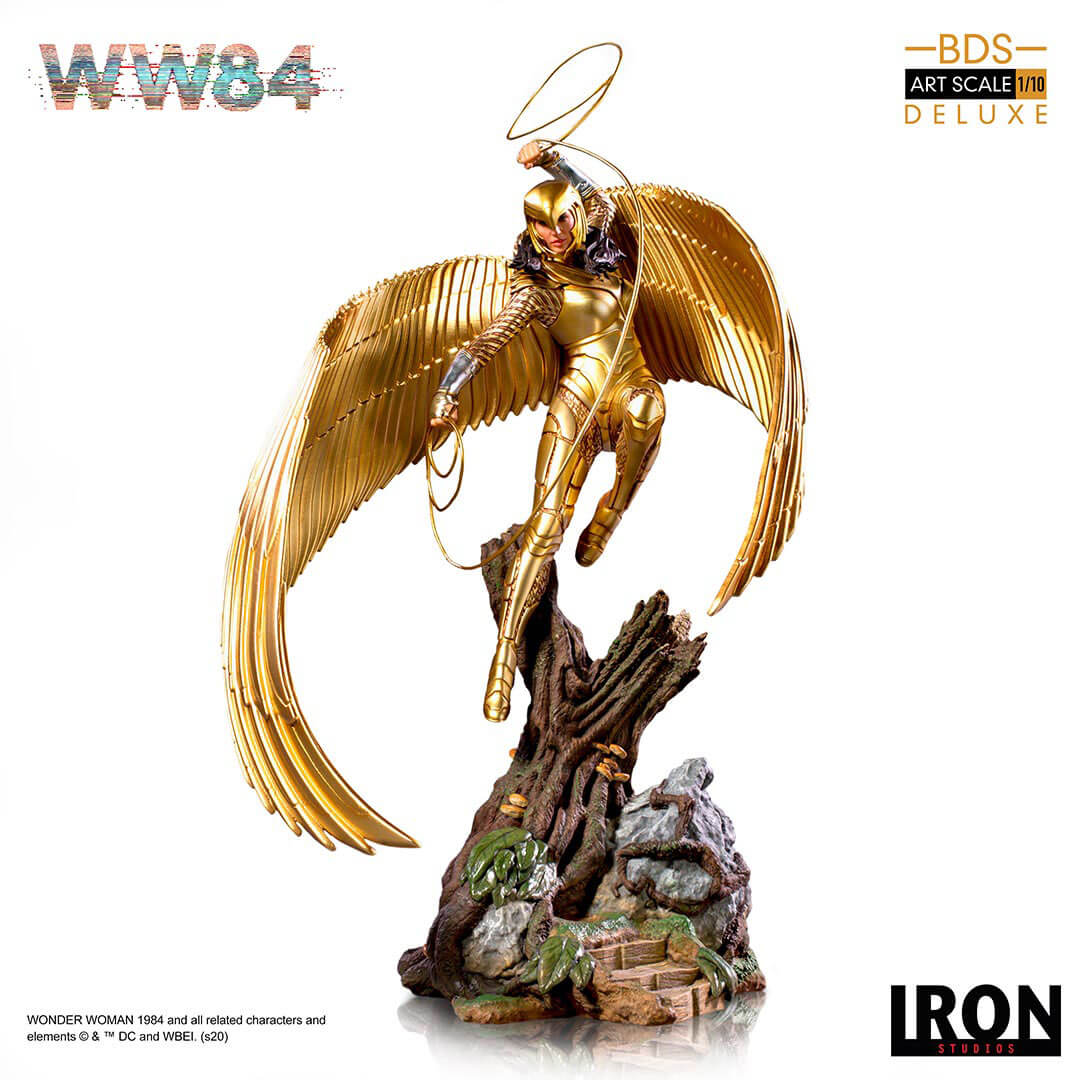 Wonder Woman 1984: Wonder Woman 1:10 Scale Deluxe Statue by Iron Studios -Iron Studios - India - www.superherotoystore.com