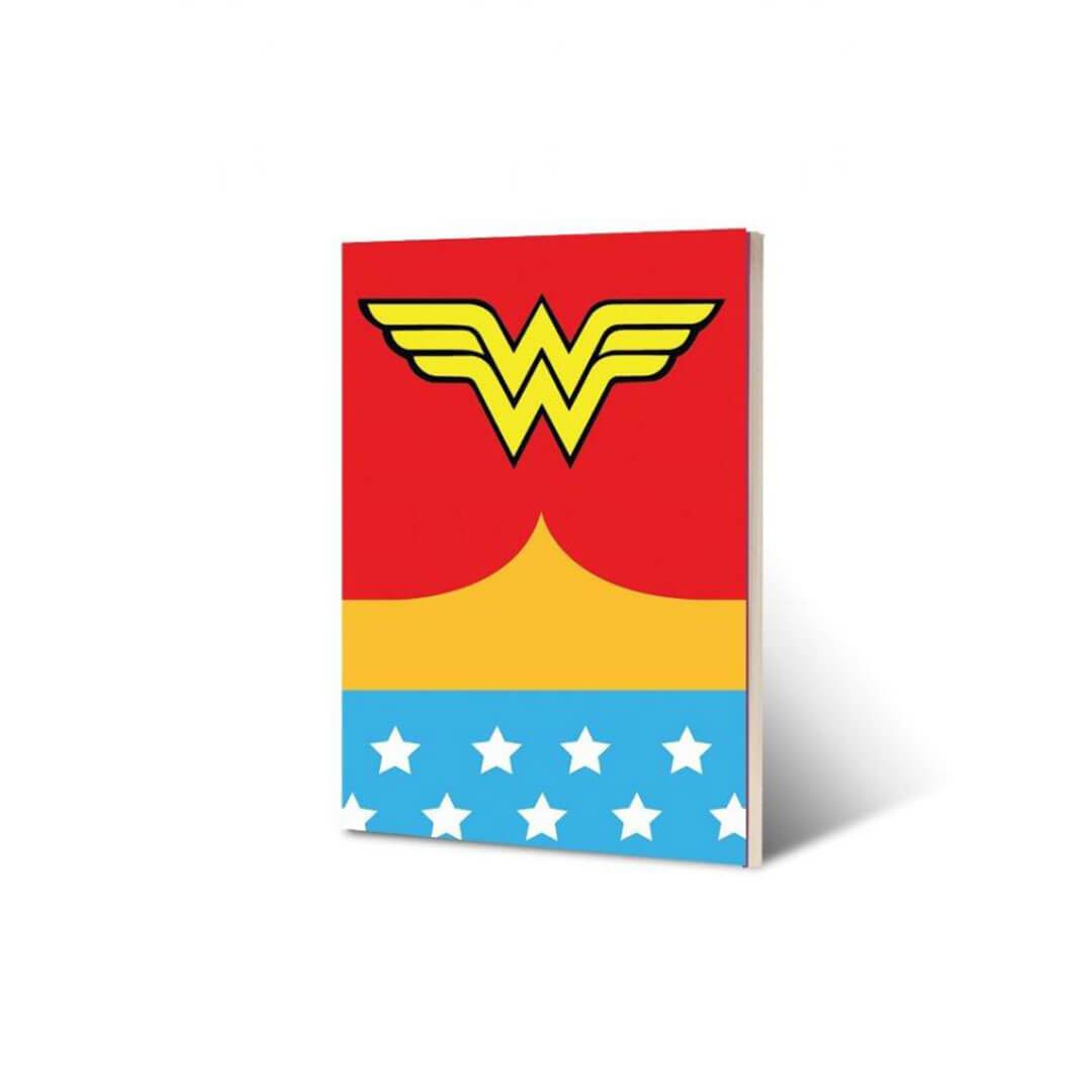 DC Wonder Woman Logo Notebook by EFG