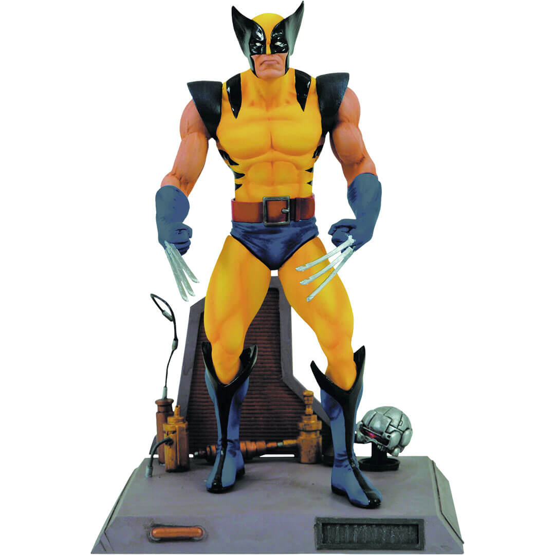 Wolverine (Yellow Costume) Action Figure by Diamond Select Toys -Diamond Select toys - India - www.superherotoystore.com