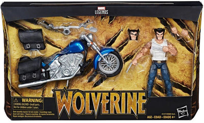 Marvel Legends Wolverine with Bike Figure by Hasbro -Hasbro - India - www.superherotoystore.com