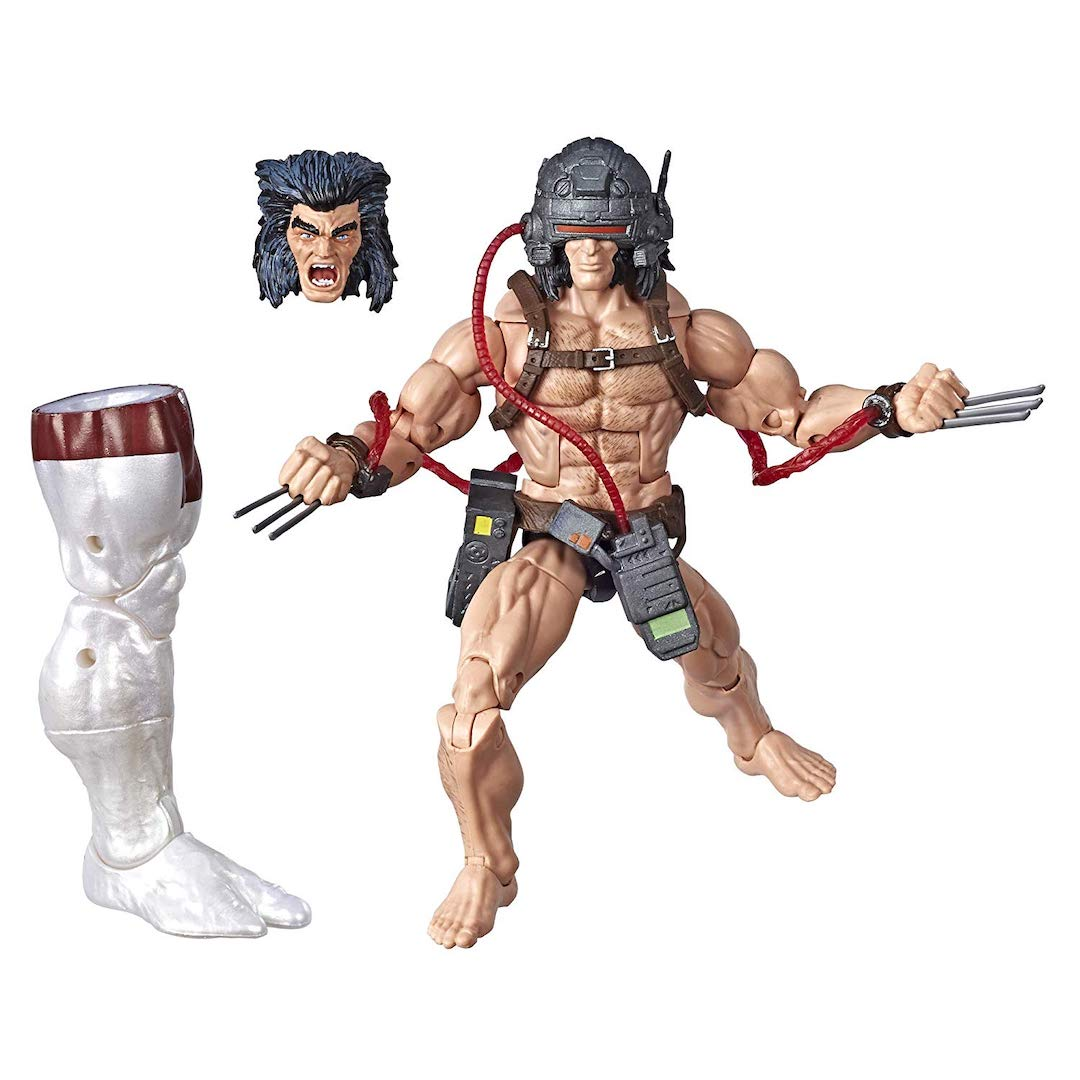 X-Men Marvel Legends Weapon X Wolverine Figure by Hasbro
