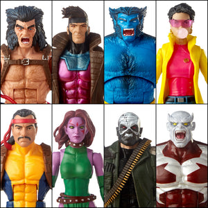 X-Men Marvel Legends Caliban BAF 7 Pack by Hasbro