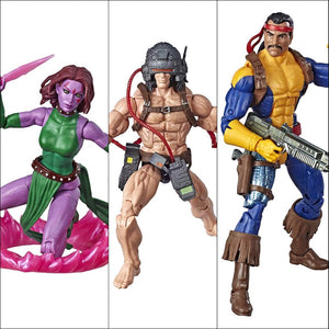 X-Men Marvel Legends Weapon-X, Blink & Forge 3-Pack by Hasbro