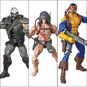 X-Men Marvel Legends Weapon-X, Skullbuster & Forge 3-Pack by Hasbro