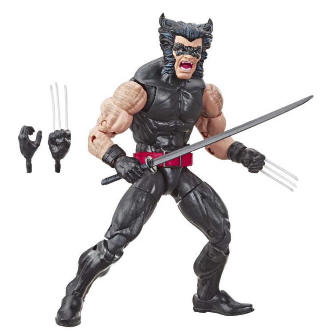 X-Men Wolverine Retro Marvel Legends Figure by Hasbro