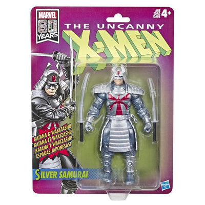 X-Men Silver Samurai Retro Marvel Legends Figure by Hasbro
