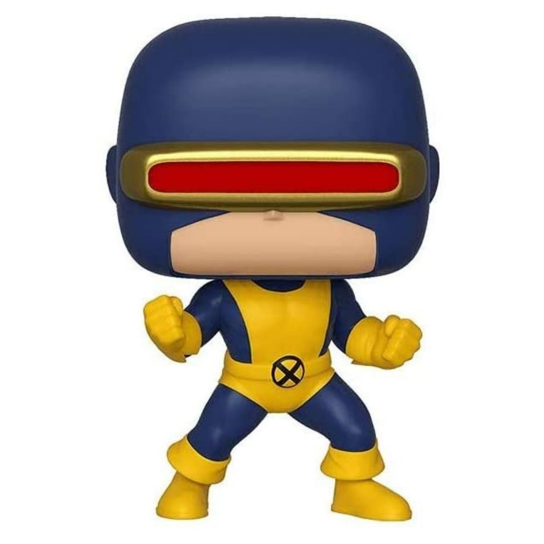 Marvel Comics X-Men 80th Anniversary First Appreance Cyclops Vinyl Bobble Head by Funko -Funko - India - www.superherotoystore.com