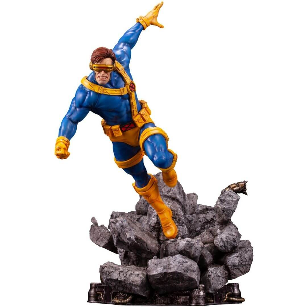Marvel Comics X-Men Cyclops Fine Art Statue by Kotobukiya -Kotobukiya - India - www.superherotoystore.com
