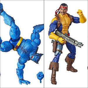 X-Men Marvel Legends Beast & Forge Pack by Hasbro