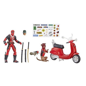 Ultimate Marvel Legends Deadpool with Scooter Figure by Hasbro