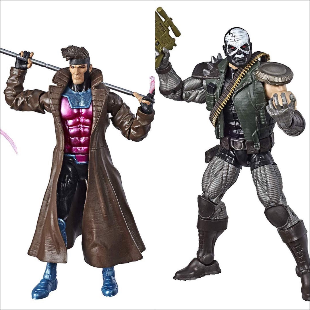 X-Men Marvel Legends Gambit & Skullbasher 2-Pack by Hasbro
