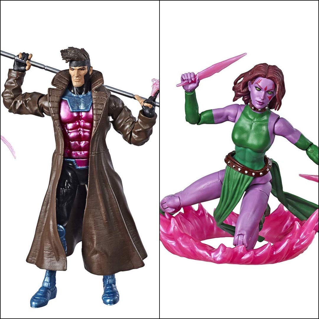 X-Men Marvel Legends Gambit & Blink 2-Pack by Hasbro