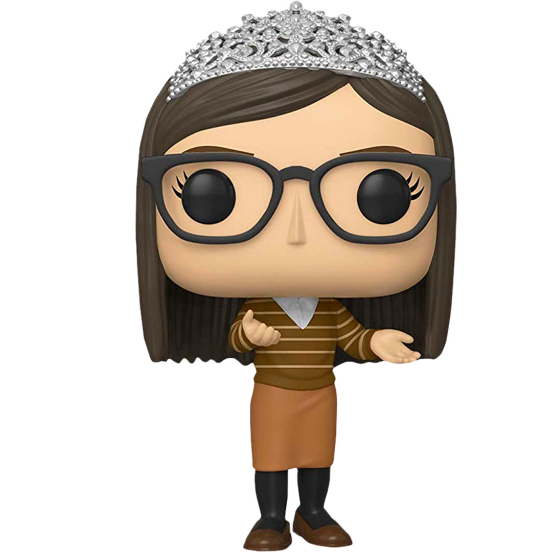 The Big Bang Theory Amy Farrah Fowler with Tiara Pop! Vinyl Figure by Funko