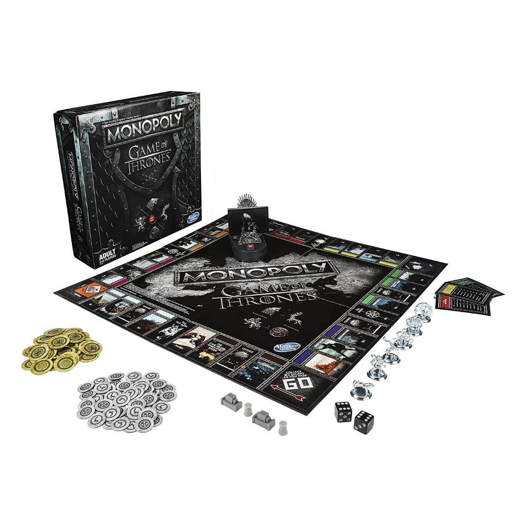 Game of Thrones Monopoly by Hasbro -Hasbro - India - www.superherotoystore.com