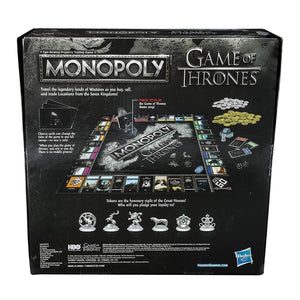 Game of Thrones Monopoly by Hasbro