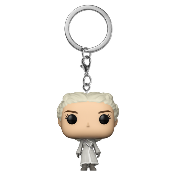 Game of Thrones Daenerys in White Coat Pocket Pop! Keychain by Funko
