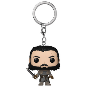 Game of Thrones Jon Snow Beyond the Wall Pocket Pop! Keychain by Funko