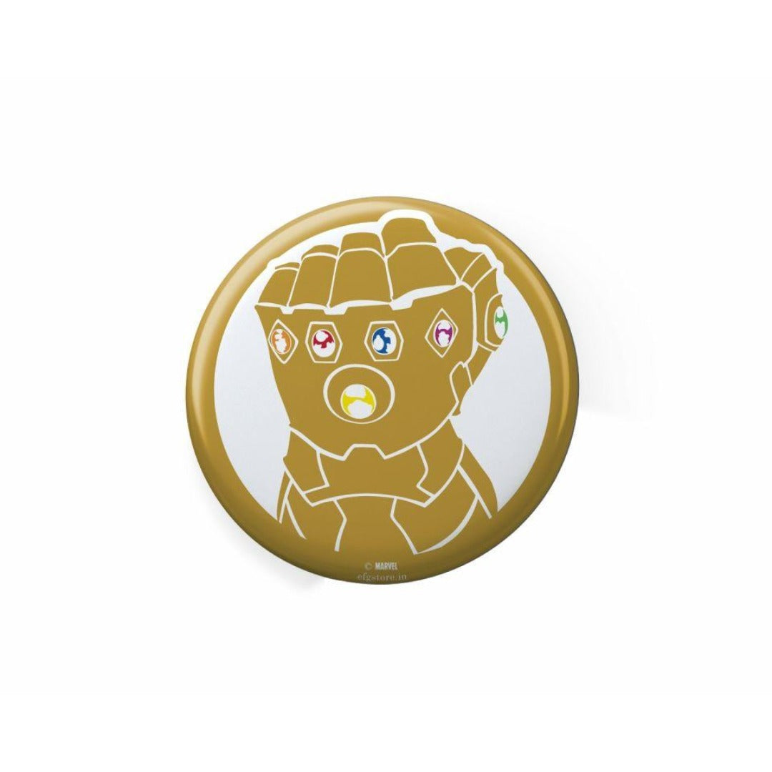 Marvel Comics Avengers Thanos Badge -EFG - India - www.superherotoystore.com