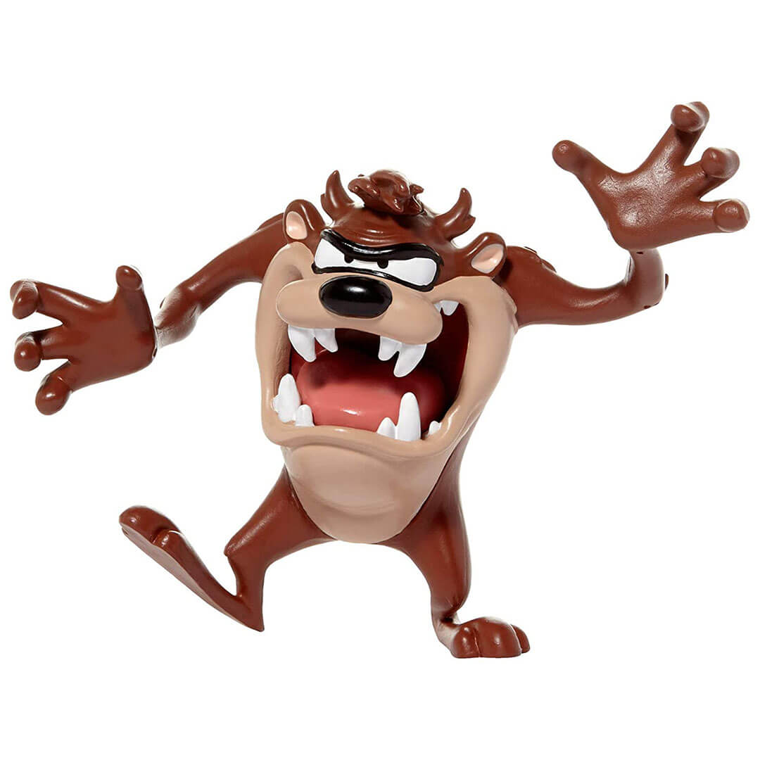 Looney Tunes Tasmanian Devil Bendable Figure by NJ Croce