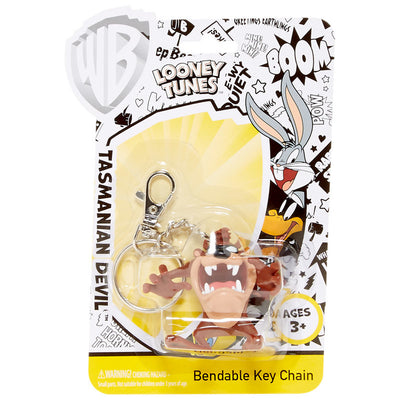 Looney Tunes: Taz Bendable Keychain by NJ Croce -NJ Croce - India - www.superherotoystore.com